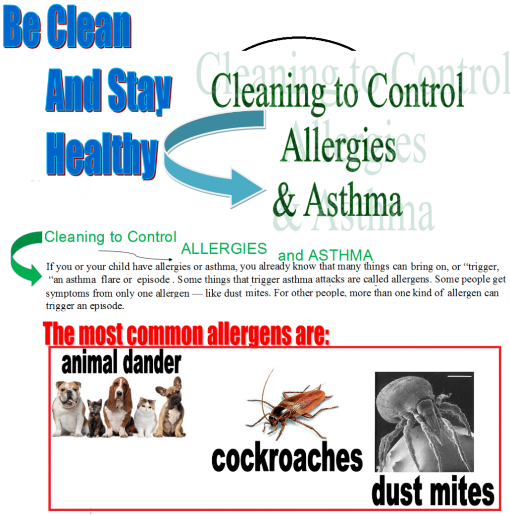 Cleaning to Control Allergies & Asthma
