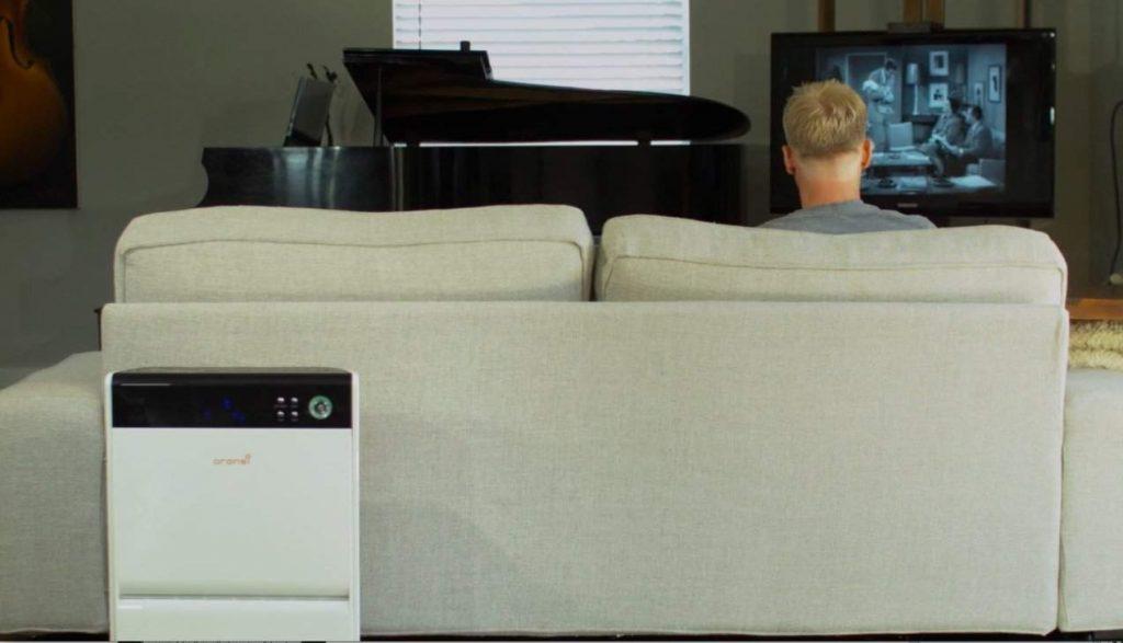 installing air purifier