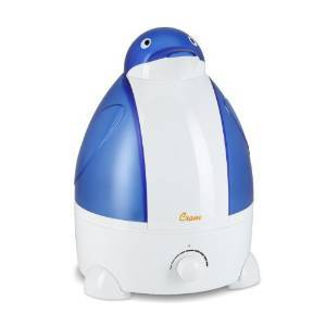 Crane Adorable Ultrasonic Cool Mist Humidifier EE-865 - Penguin Review