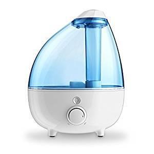 Ultrasonic Cool Mist Humidifier 1-Gallon Water Tank
