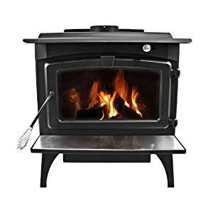 Pleasant Hearth 2,200 Square Feet Wood Burning Stove, Large