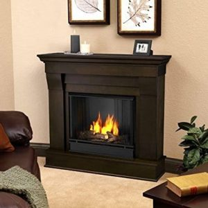 Real Flame Chateau Ventless Gel Fireplace