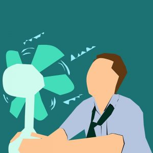 cooling effect of fans