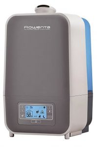 Rowenta HU5120 Intense Aqua Control Ultrasonic 360 Humidifier with Unique Baby Mode
