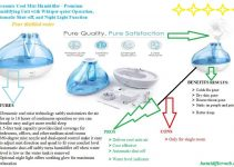 Ultrasonic Cool Mist Humidifier Review