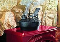 Cast Iron Adirondack Chair Wood Stove Steamer Review