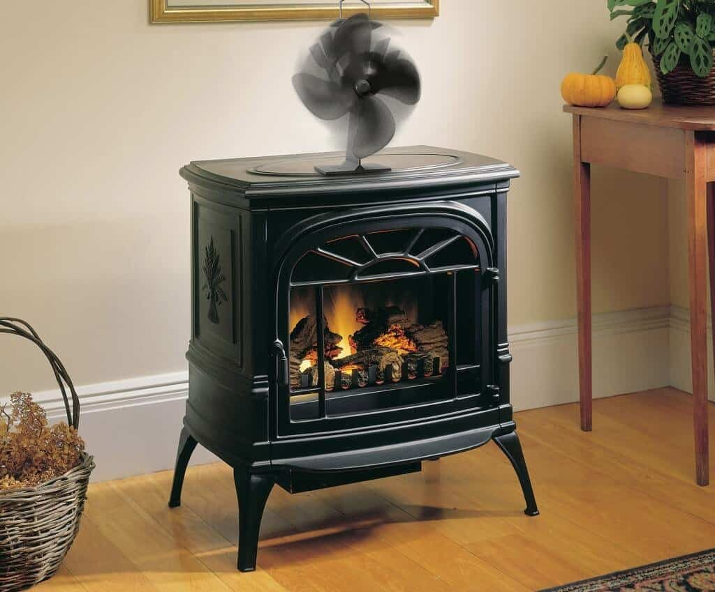 Top 5 Best Fans For Wood Burning Fireplaces And Stoves Review