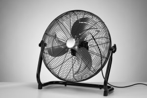 adding an air circulator for comfort