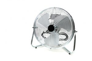 fans provide a cooling effect